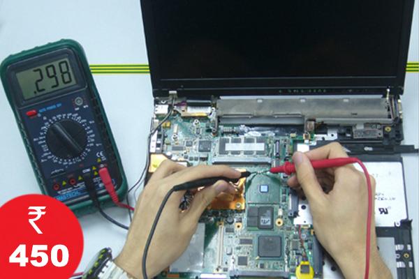 Laptop Repairing @ Rs. 450
